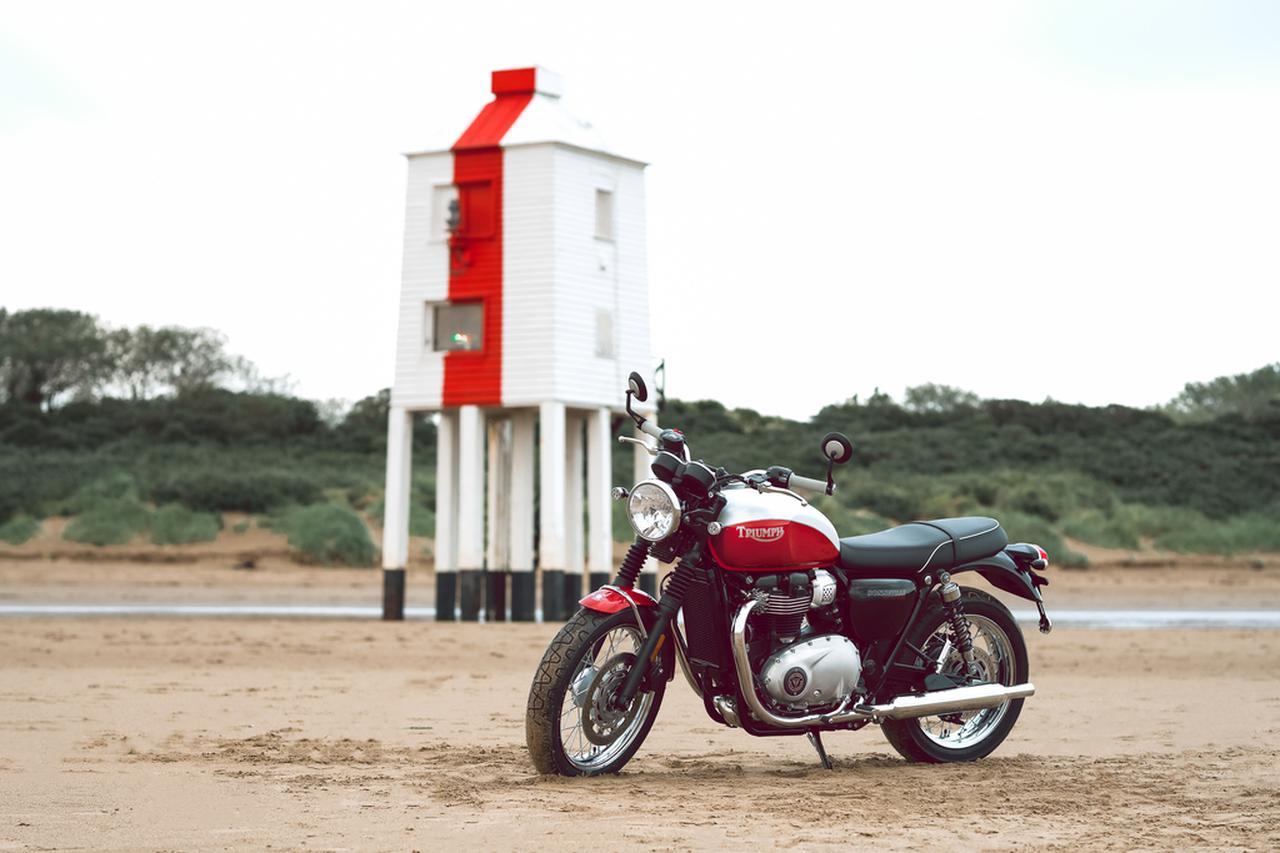 Images : 8番目の画像 - 「Bud Ekins Bonneville T100」の写真をもっと見る! - webオートバイ