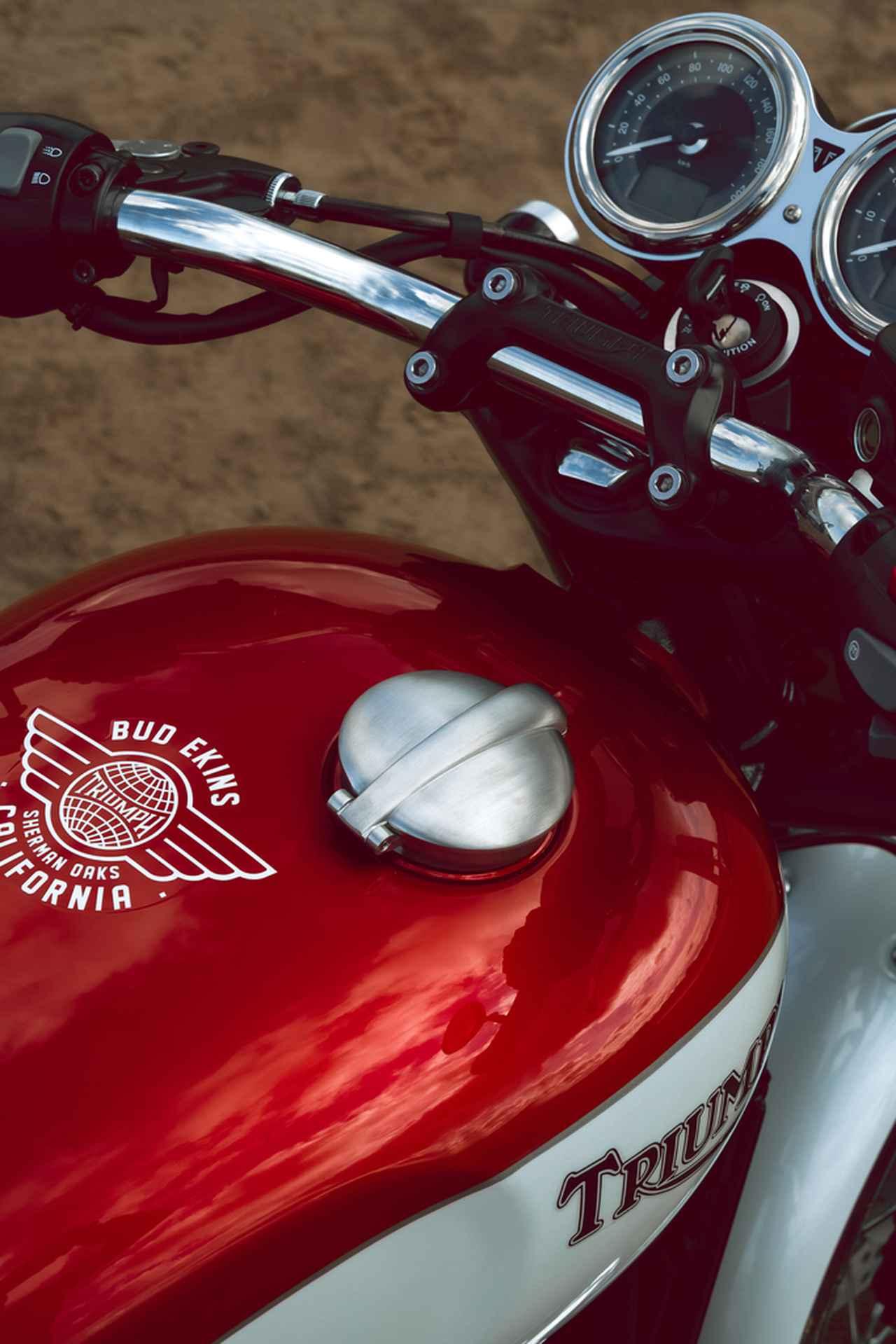 Images : 7番目の画像 - 「Bud Ekins Bonneville T120」の写真をもっと見る! - webオートバイ