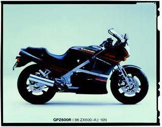 カワサキ GPZ600R 1984 年 4月