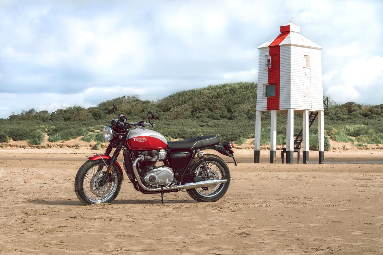 Images : 6番目の画像 - 「Bud Ekins Bonneville T100」の写真をもっと見る! - webオートバイ