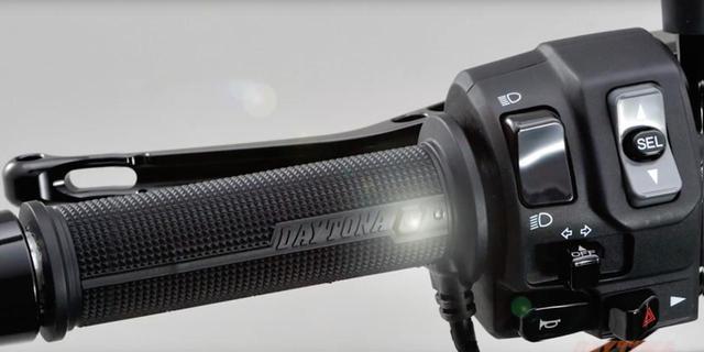 画像: 【新製品】スゴい「グリップヒーター」が出た!「しかも安い!」LEDスイッチをグリップに内蔵した新型ホットグリップで寒い冬をスマートに乗り切ろう!<動画あり> - webオートバイ