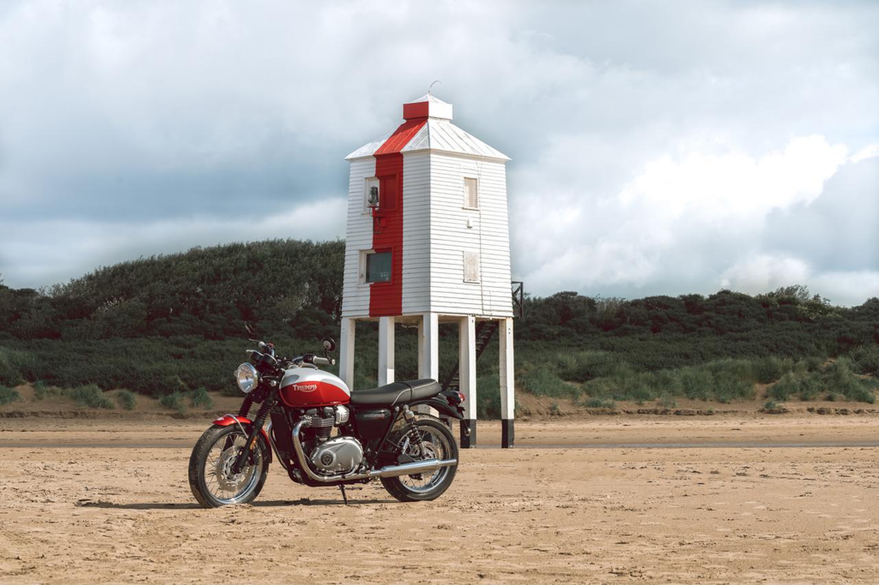 Images : 7番目の画像 - 「Bud Ekins Bonneville T100」の写真をもっと見る! - webオートバイ