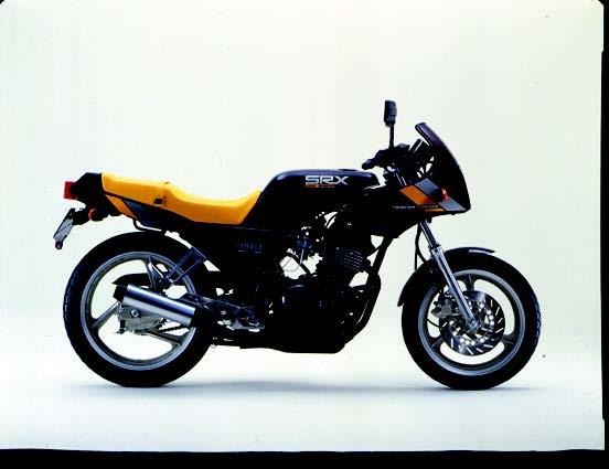 Images : ヤマハ SRX250F 1984 年7月