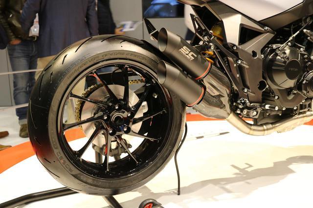 画像2: CB650R譲りのエンジン、各部パーツが実現度の高さを感じさせる