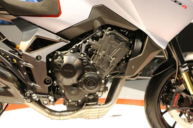 画像1: CB650R譲りのエンジン、各部パーツが実現度の高さを感じさせる