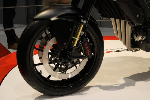 画像4: CB650R譲りのエンジン、各部パーツが実現度の高さを感じさせる