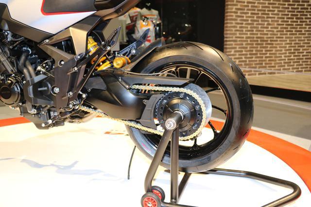 画像3: CB650R譲りのエンジン、各部パーツが実現度の高さを感じさせる