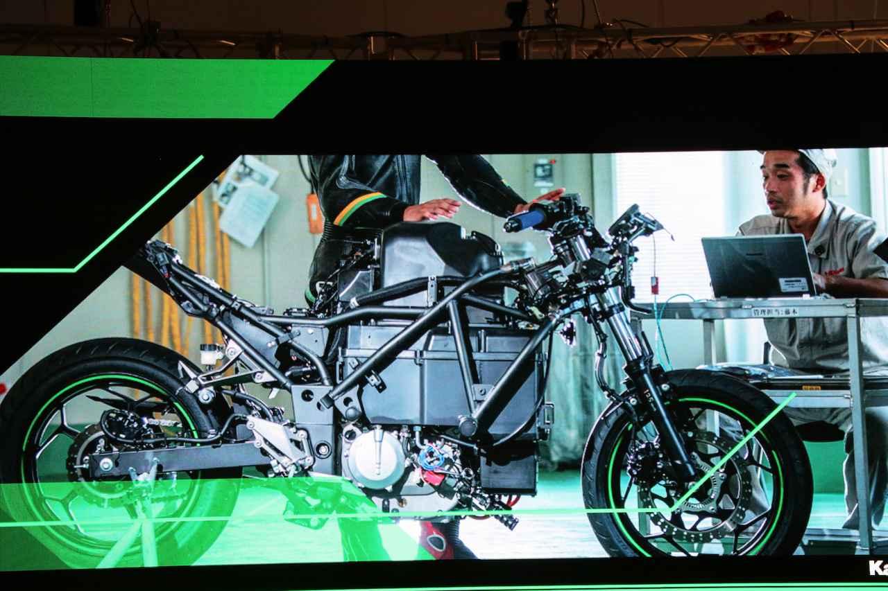Images : 1番目の画像 - EV Projectの画像をじっくり見る! - webオートバイ