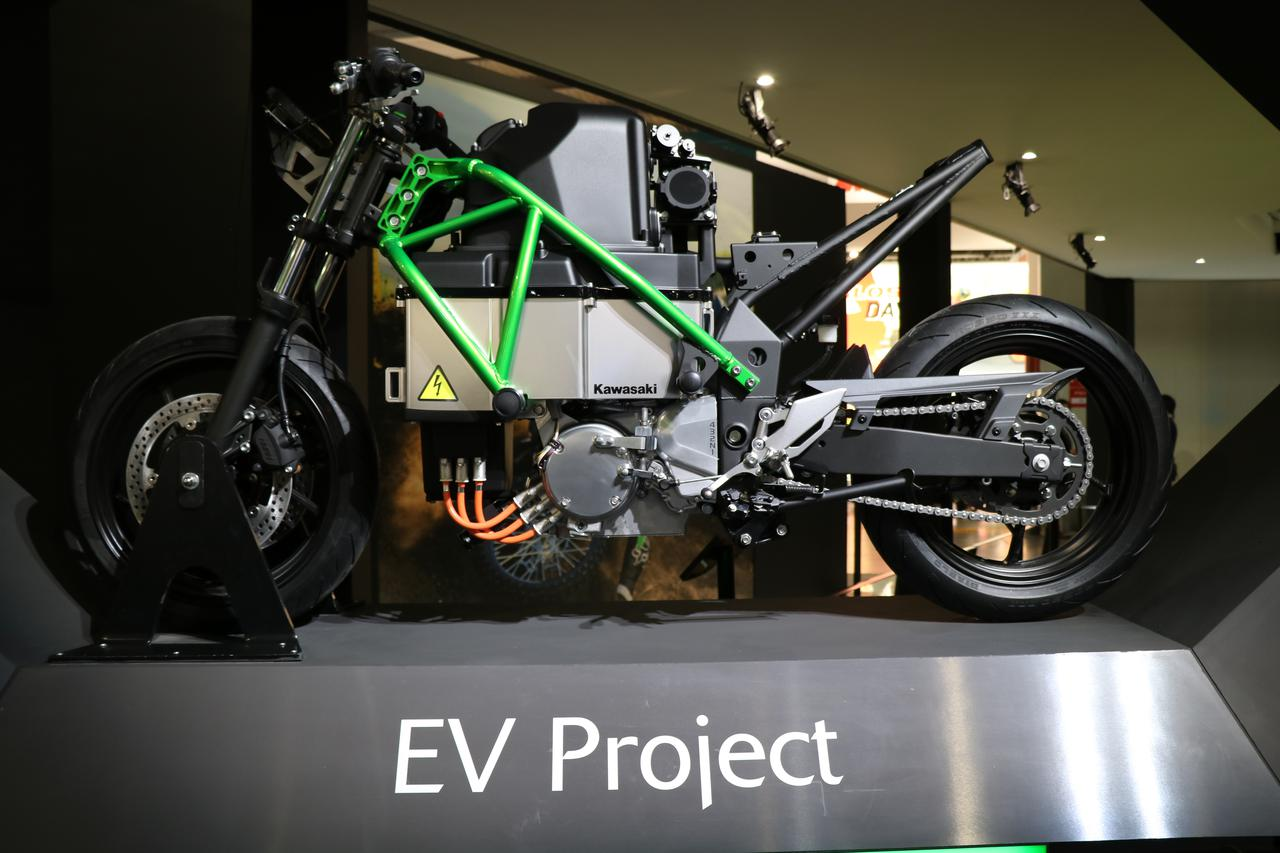 Images : 7番目の画像 - EV Projectの画像をじっくり見る! - webオートバイ