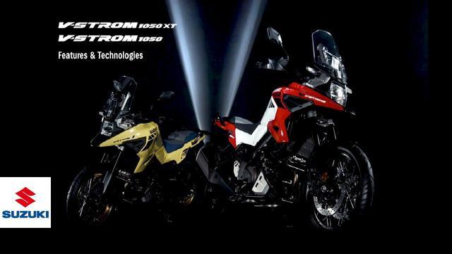 画像: 2020 V-STROM 1050/XT official technical presentation video -All ver.- | Suzuki www.youtube.com