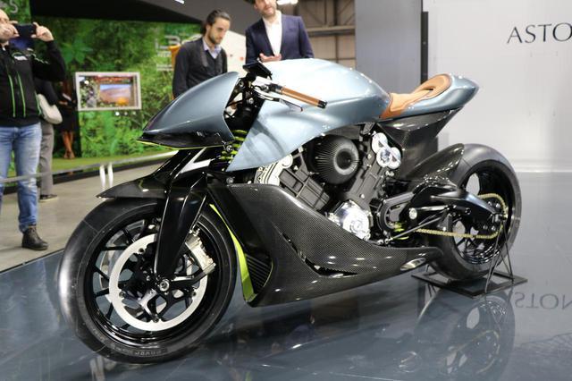 画像1: イギリスが誇る高級バイクメーカー「ブラフ・シューペリア」とのコラボ