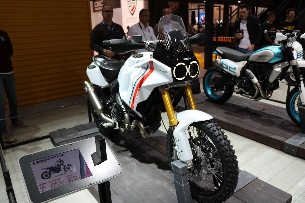 Images : 1番目の画像 - スクランブラー デザートXの写真を見る! - webオートバイ