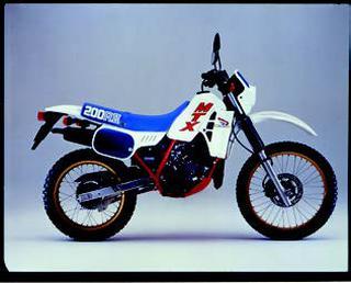 ホンダ MTX200R-II 1985 年2月