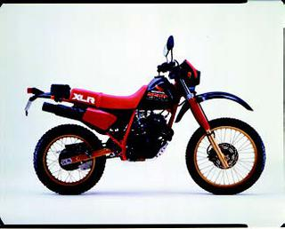 ホンダ XLR250R 1985 年 4月