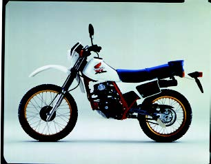 Images : ホンダ XL125R 1985 年 6月