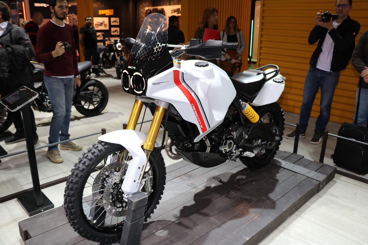 Images : 2番目の画像 - スクランブラー デザートXの写真を見る! - webオートバイ