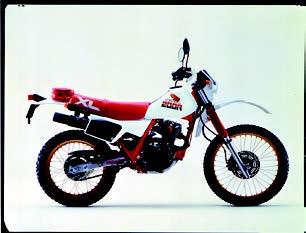 Images : ホンダ XL200R 1985 年 4月