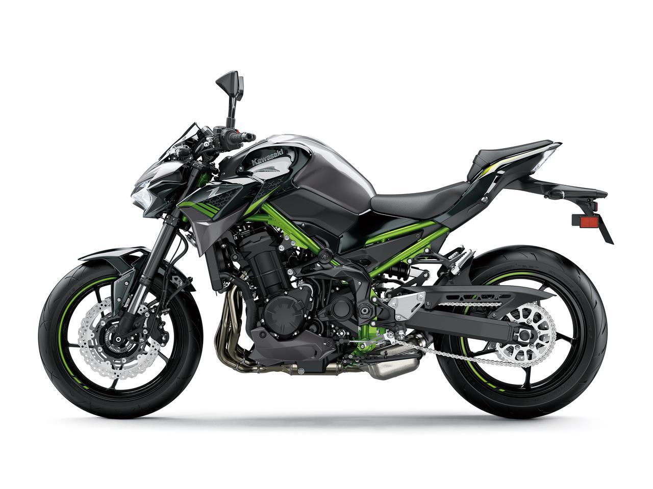 画像11: カワサキの新型「Z900」「Z650」は、デザインを「Z H2」のイメージに!? スタイリング紹介の第一報【EICMA 2019速報】