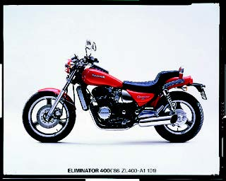 Images : カワサキ エリミネーター400 1986 年2月