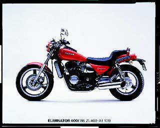 カワサキ エリミネーター400 1986 年2月