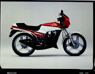 Images : ホンダ MBX50F 1985 年11月