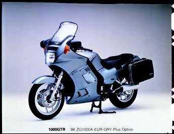 Images : カワサキ 1000GTR 1986 年