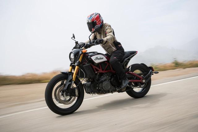 画像: 「ニューアメリカンスタンダード」って何だろう?「インディアン FTR1200/S」(和歌山利宏) #試乗インプレ - webオートバイ