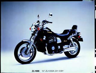 カワサキ ZL1000 1986 年