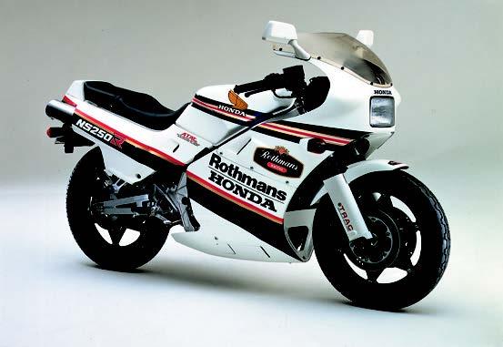 Images : ホンダ NS250Rロスマンズ 1986 年1月