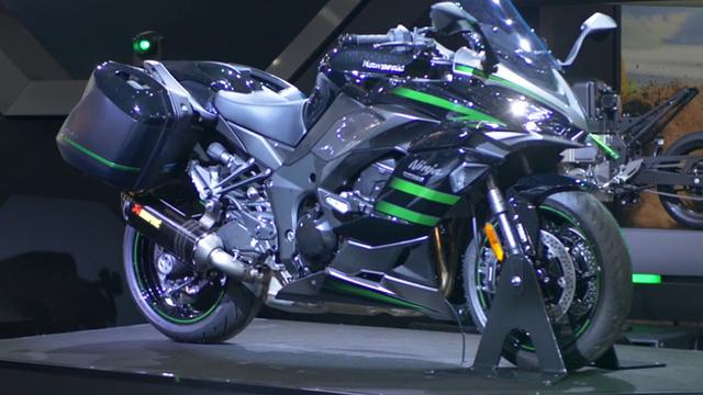 画像: EICMA Special: Kawasaki Booth II youtu.be