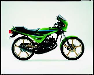 Images : カワサキ AR50S 1985 年 9月