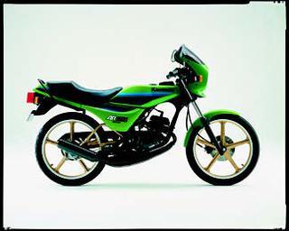 カワサキ AR50S 1985 年 9月