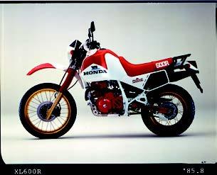 Images : ホンダ XL600Rファラオ 1985 年 8月