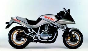 Images : スズキ GSX750Sカタナ 1986 年2月