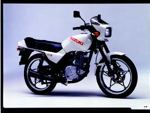 Images : スズキ GS125E 1986 年