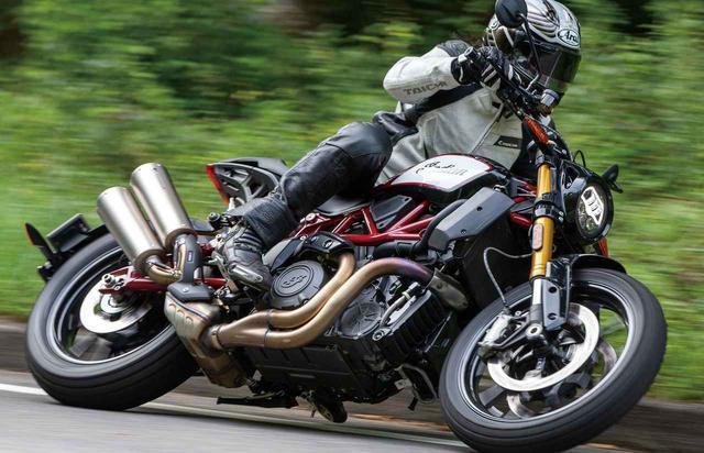 画像: インディアン「FTR1200S レースレプリカ」/フラットトラックレーサーのDNAを注ぎ込まれた最強トラッカーが上陸!#試乗インプレ2019 - webオートバイ