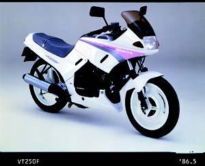Images : ホンダ VT250F 1986 年 4月