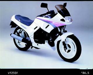 ホンダ VT250F 1986 年 4月
