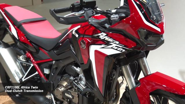 画像: [TMS2019] CRF1100L Africa Twin Adventure Sports ES Dual Clutch Transmission(ブース展示風景) youtu.be
