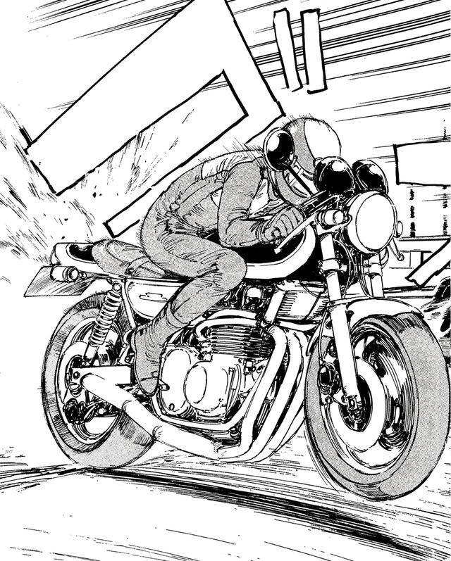 画像: 50cc超のオートバイのヘルメット着用が罰則ありの義務化されたのは1975年。このときは政令指定都市区間だけであったが、78年には全ての道路に広げられ、原付にまで及んだのは86年だ。カットは唯一、研二がヘルメット(BELL製)着用で登場した回で、アンケート人気はアップした。ストーリーの面白さに加え、新鮮なイメージが功を奏した、のか?