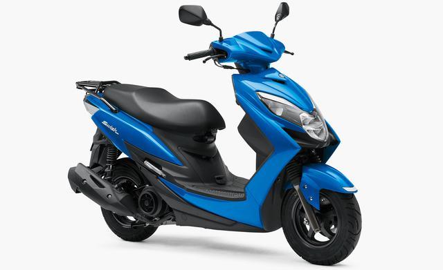 画像: スズキ スウィッシュ 強制空冷・4サイクル・単気筒・124cc/税込32万4,500円