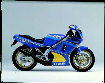 Images : ヤマハ TZR250R 1986 年 4月