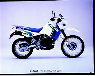 カワサキ KLR650 1987年