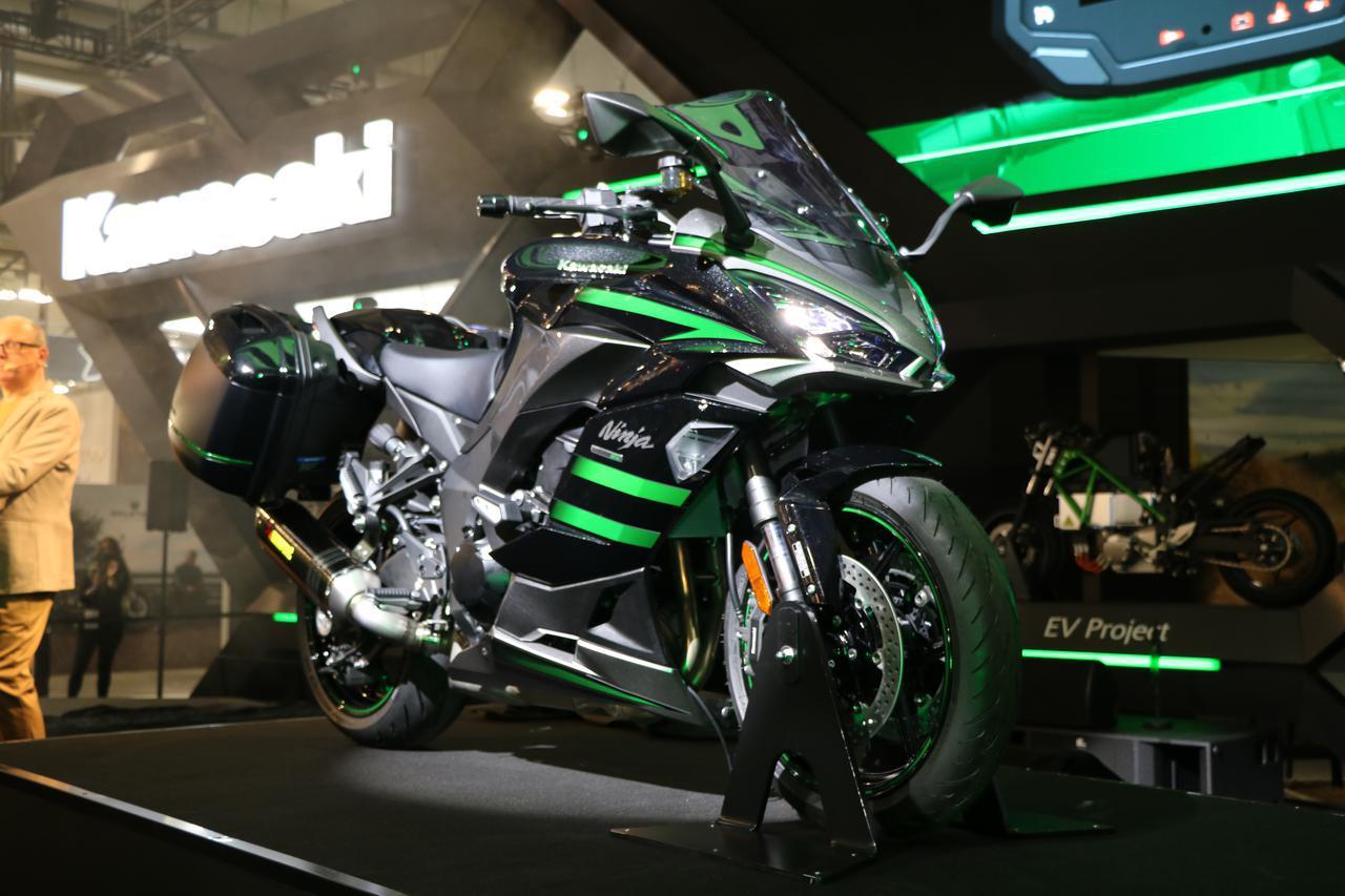 画像: 【EICMA 2019速報!】カワサキ「Ninja1000 SX」/進化と熟成を重ねた4代目がデビュー、国内発売が待ち遠しい! - webオートバイ