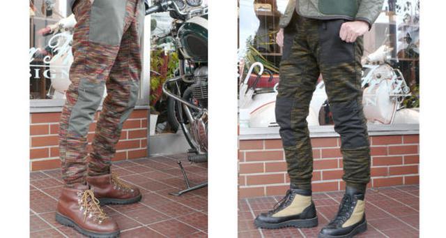 画像1: リラックスカジュアルの定番「ジョガーパンツ」をバイク用にアレンジ