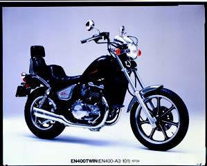 Images : カワサキ EN400ツイン 1987年 4月