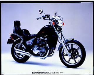カワサキ EN400ツイン 1987年 4月