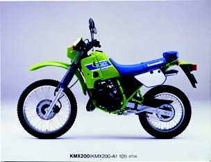 Images : カワサキ KMX200 1987年 4月