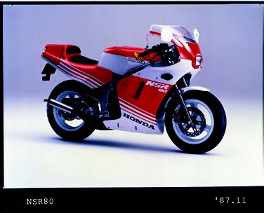 Images : ホンダ NSR80 1987年11月