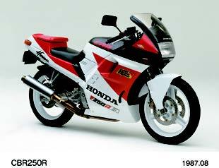 Images : ホンダ CBR250R 1987年 8月